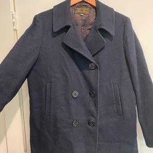 Vintage Navy Eddie Bauer Coat- L/XL
